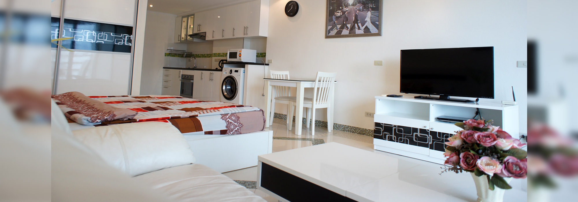 A luxury modern style condo for rent, Viewtalay 5 C