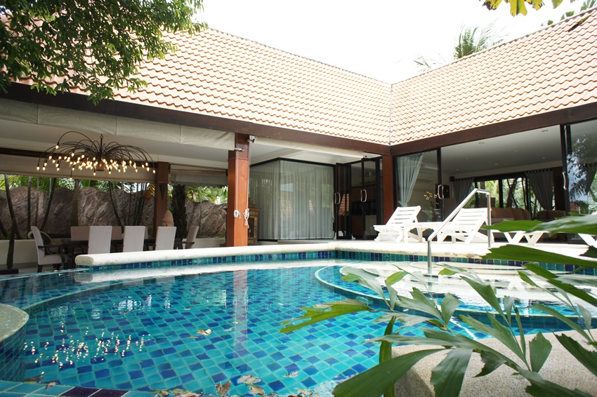 Luxury Thai-Bali Style house for Sale&Rent
